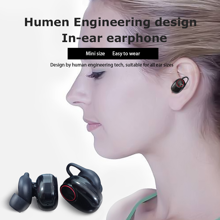 Mini Earphone TWS Bluetooths 5.0 Sport Wireless Earbuds Bluetooths Earphone