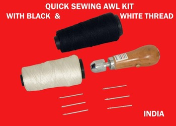 Diy Speedy Stitcher Sewing Awl Tool Kit For Leather Sail & Canvas Heavy  Repair Tool - Buy Leather Sewing Awl,Sewing Awl Kit,Professional Sewing Kit
