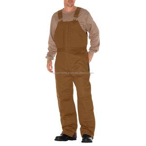 Custom Made workwear trousers bib and brace overalls Custom Working Uniform