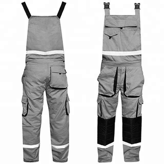 Men's Clothing Business & Industrial Humor Mens Work Dungarees Working Trousers Bib And Brace Overall Multi Pockets Pants