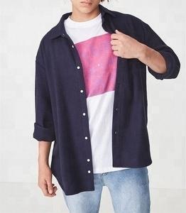 Flannel shirt. Men long sleeve flannel shirt