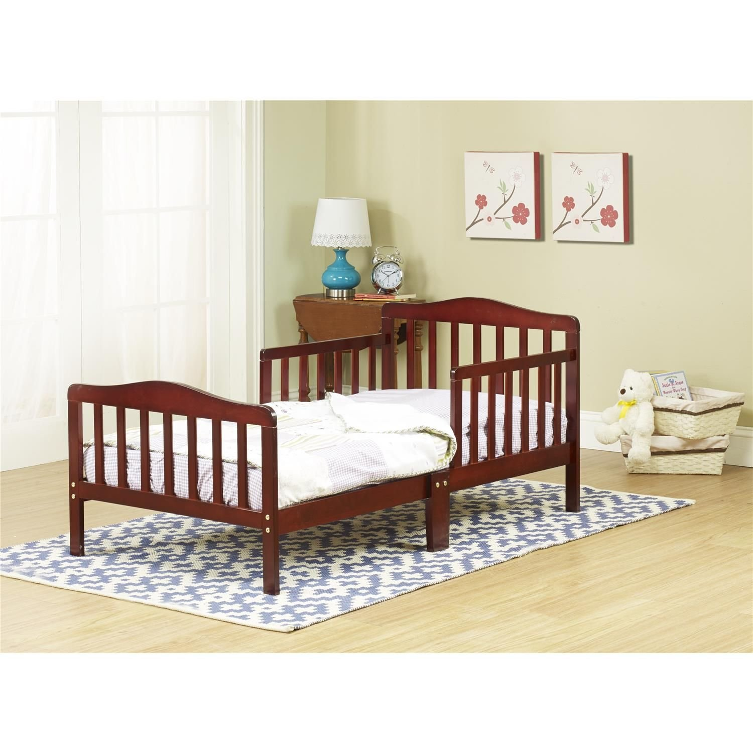 Orbelle 3-6T Toddler Bed, Dark Cherry
