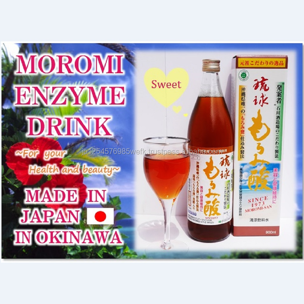 Nutritious Moromi enzyme drink going well with yogurt ISO9001 certified