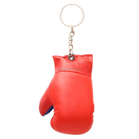 Promotional Mini Boxing Glove Keychain with National Flag