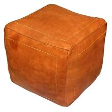 Home Stool & Ottoman Specific Use and Home Furniture General Use moroccan leather pouf