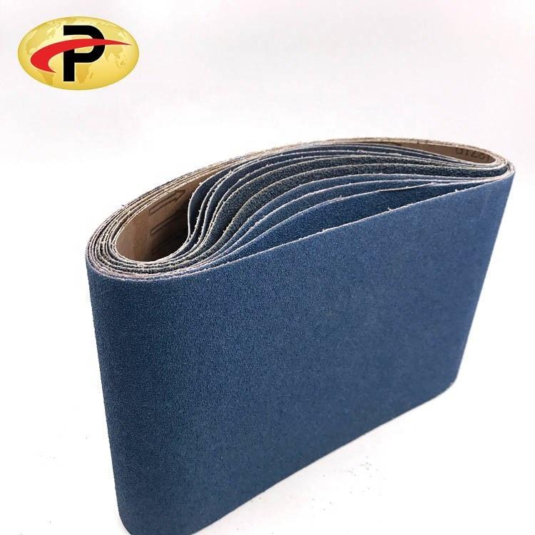 Good quality 200*750mm abrasive polishing zirconia flooring sanding belt