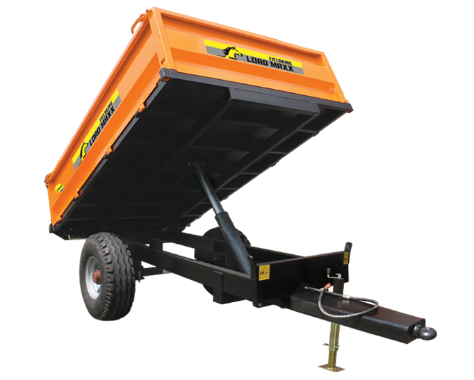 3 Way Tipping Trailer, Trailer Trailer