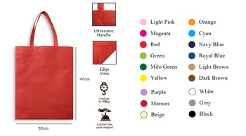 B1g04 A3 Size Non Woven Bag ( Plain Color) 323ea57128d40