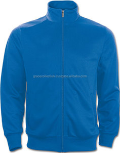 100% Polyester Wholesale Custom Mens Tricot Sport Running Jackets without Hood