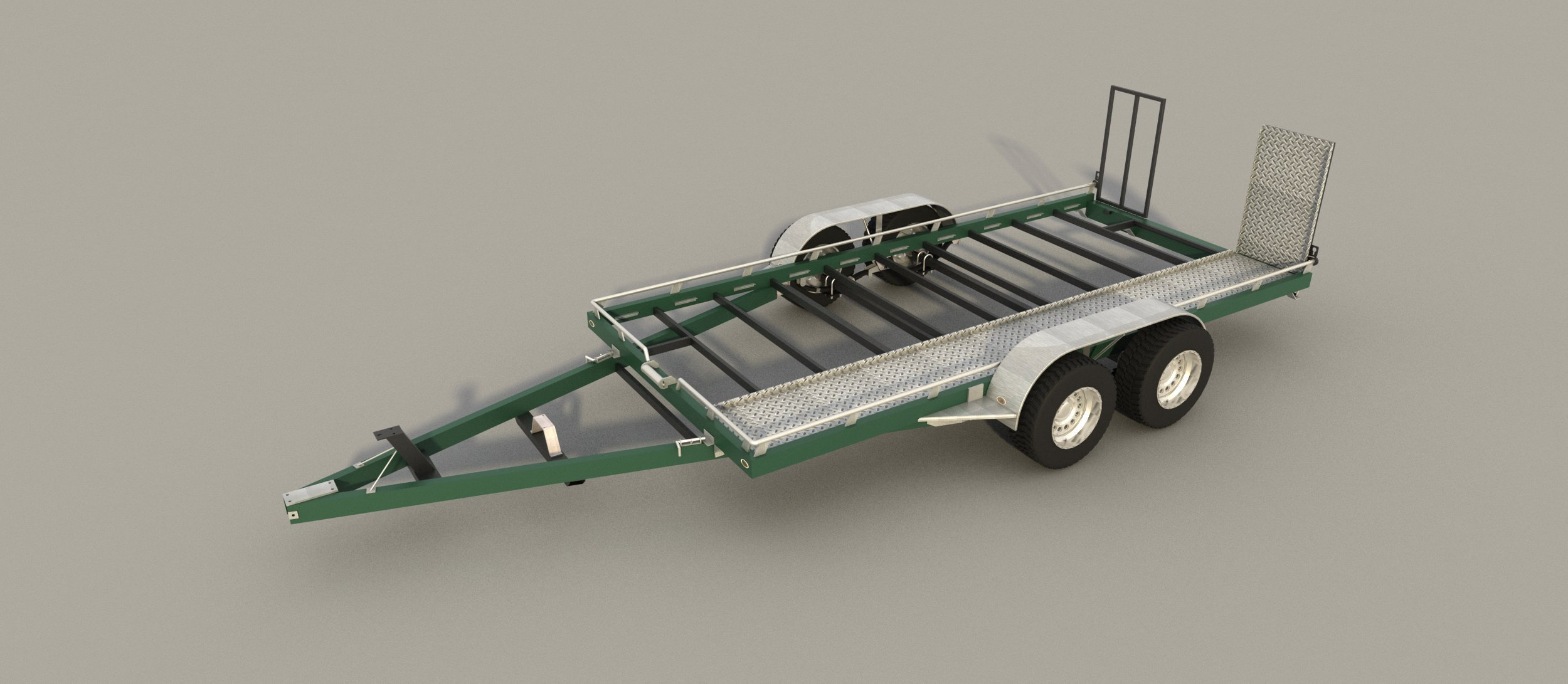 Get Quotations · Build Your Own Open Car Hauler Trailer Plans DIY Homemade Auto Carrier