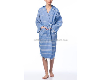d9be69440f Peshtemal Bathrobe - Turkish Bathrobe - Bridesmaid Bathrobe - Turkish  Cotton Bathrobe - Turkish Tekstil