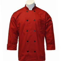 Black Chef Uniform Coat