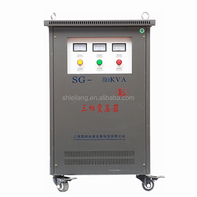 SG series three phase dry type isolation transformer customized with CE certificate