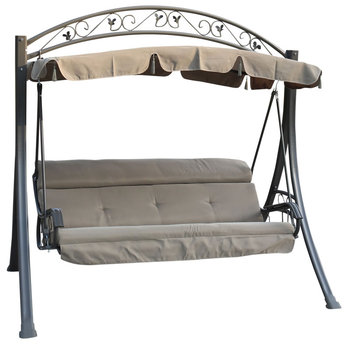 Deluxe Adult Swing Set,Metal Swing Sets With Cushion ...