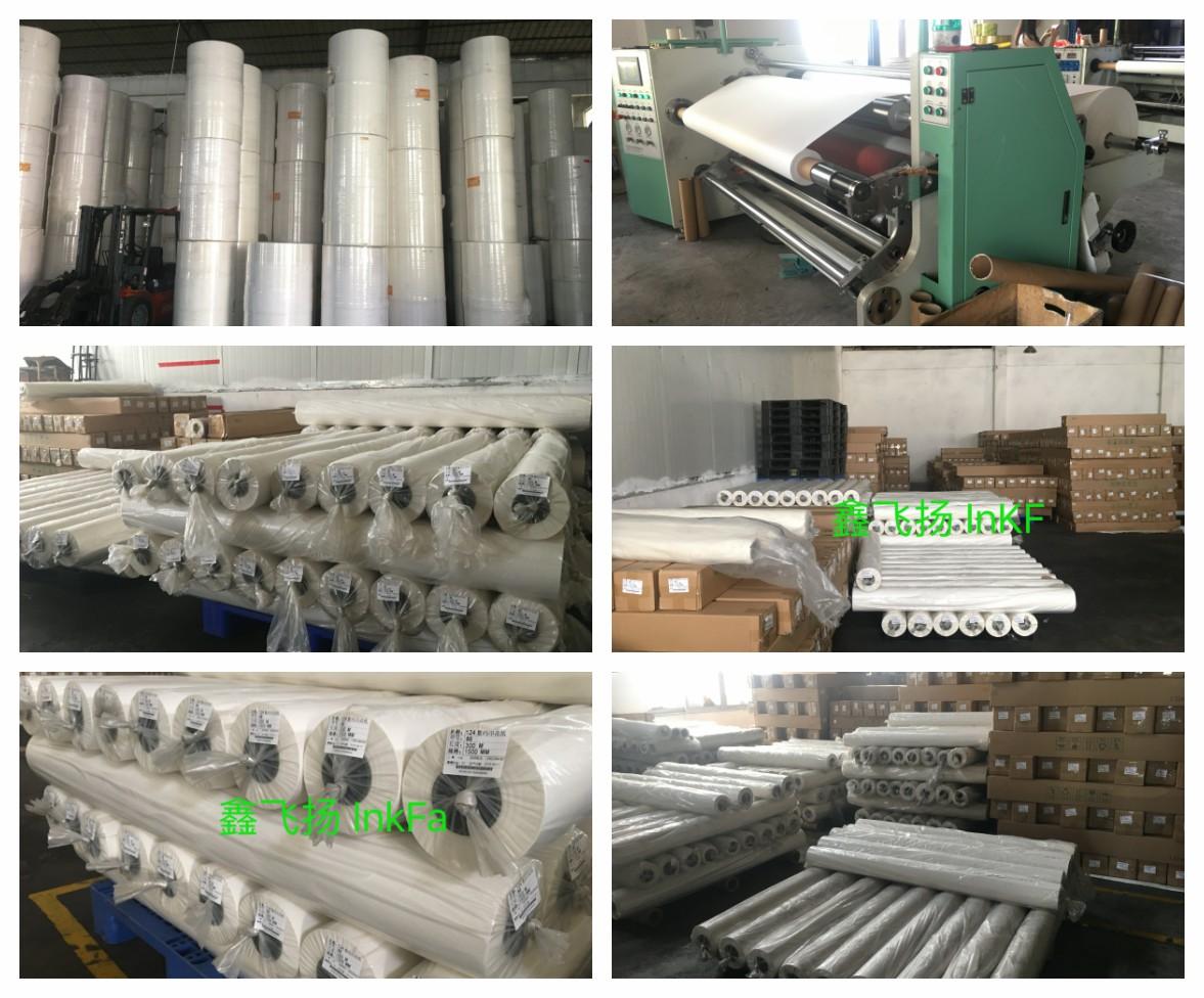 ประเทศจีนโรงงานสีระเหิดม้วนกระดาษพิมพ์ในกว่างโจวกระดาษระเหิด 50 กรัม 70 กรัม 90 กรัม 100 กรัม