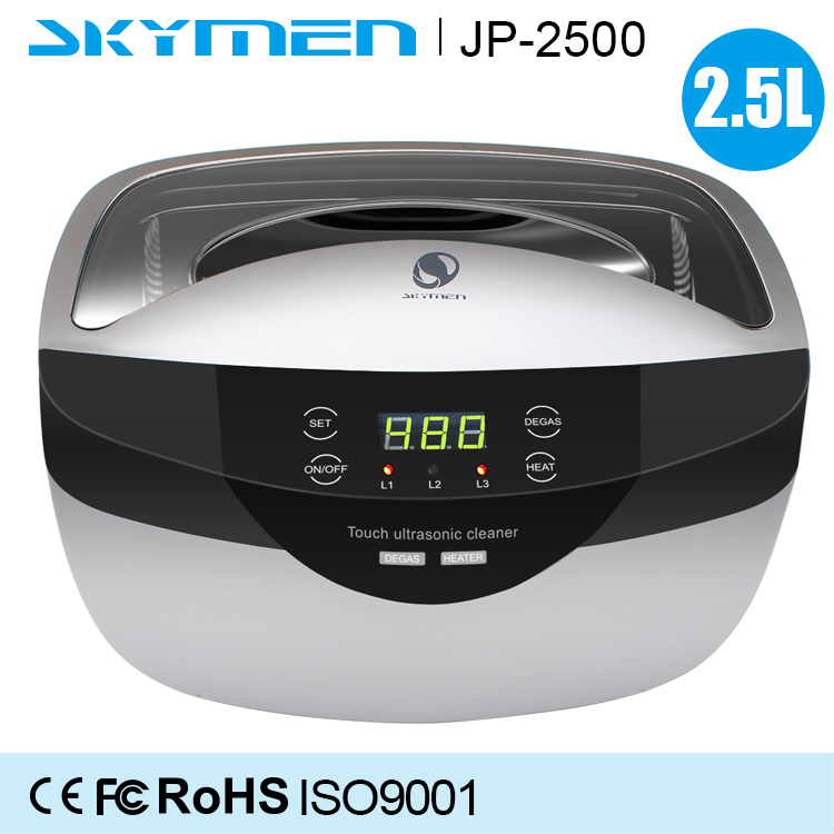 600ml JP-890 mini ultrasonic cleaning equipment washing DVD and jewelry cleaner