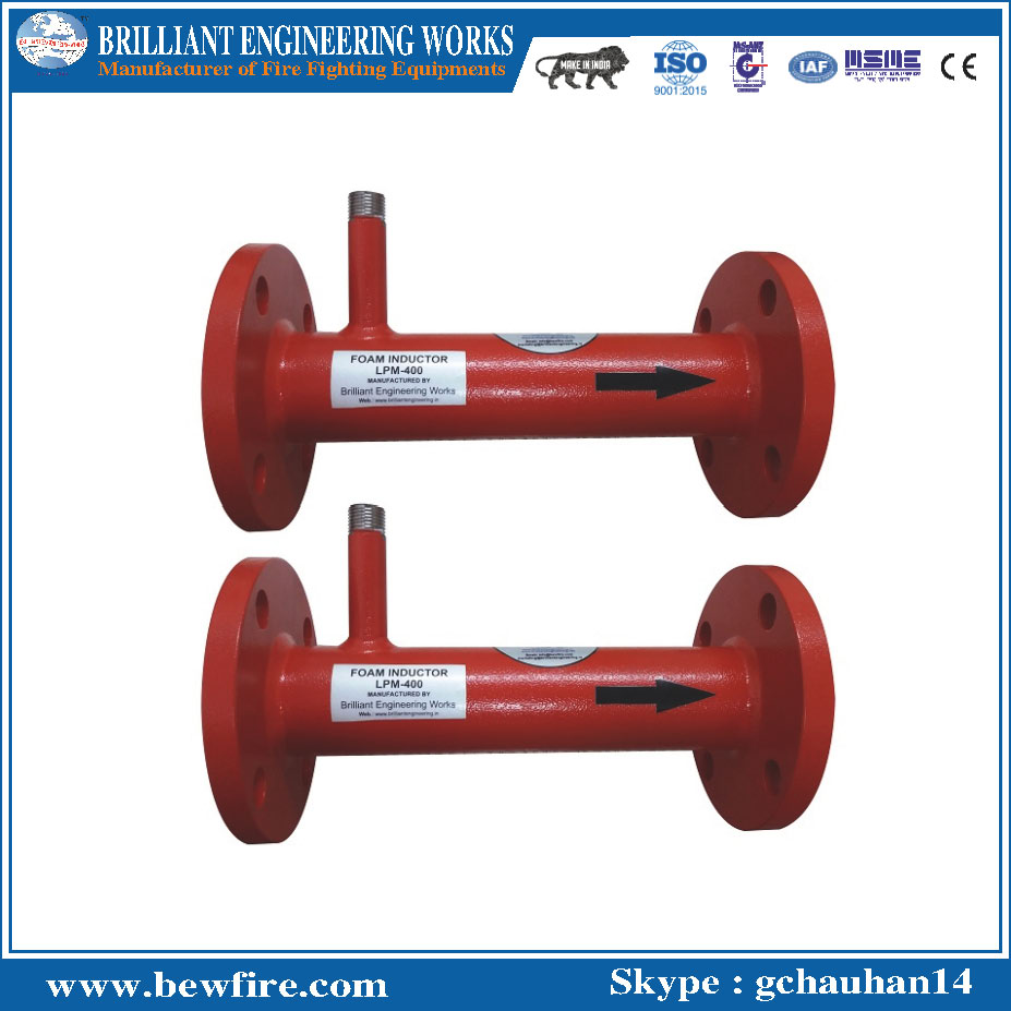 Fire fighting equipments Foam Inline Inductor