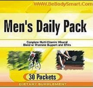 Men's Daily Multi Pack Mixed Tab/Cap (BodySmart)