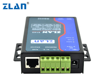Zlan5143 Rs232 Rs485 Rs422 To Ethernet Rj45 Converter Modbus Rtu Tcp  Gateway Baud Rate Multi Host Converte Seiral Device Server - Buy Modbus