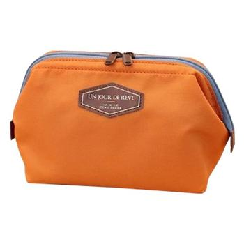 Professional Custom Cosmetic Travel Plain Cosmetics Bag
