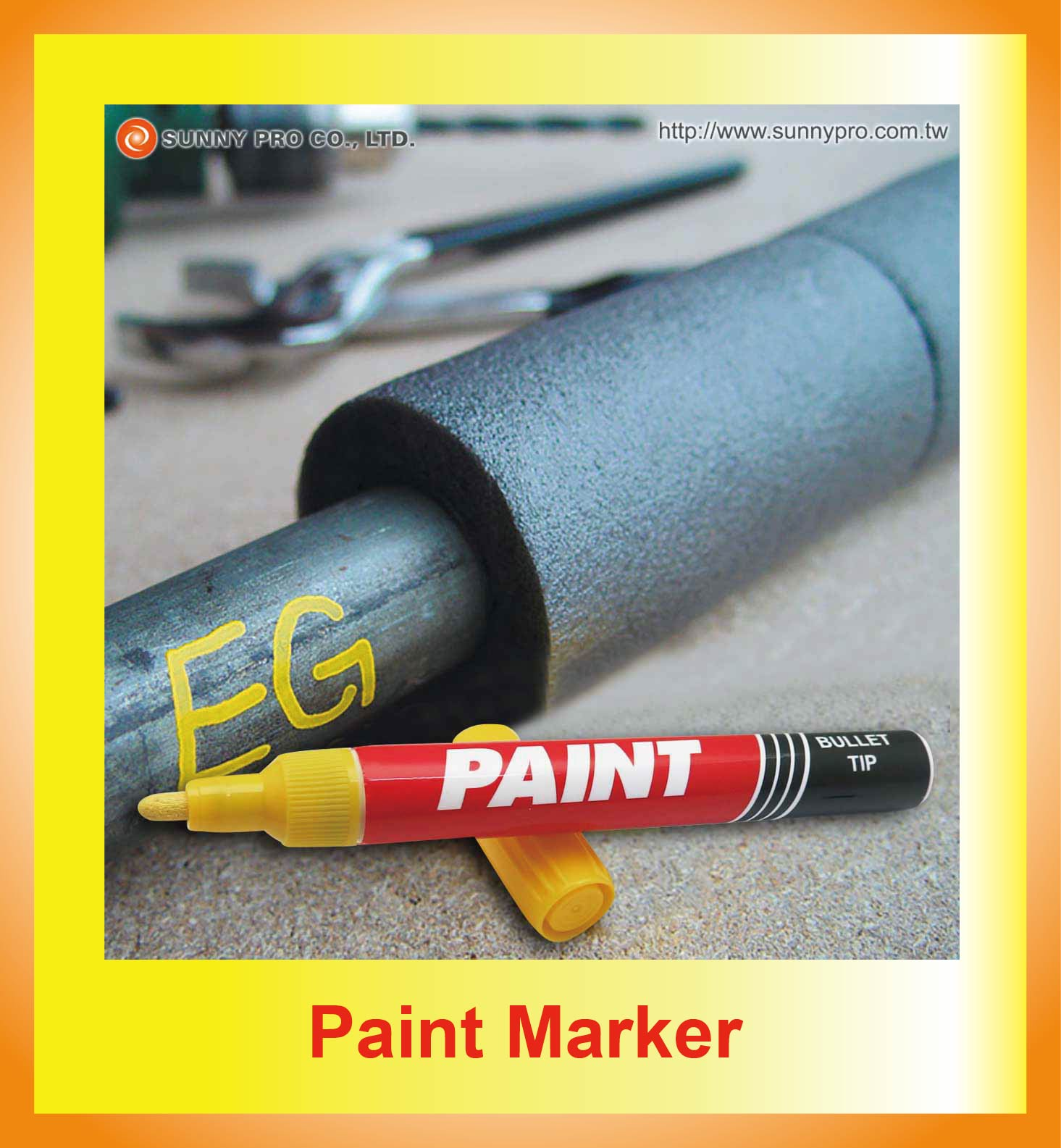 Paint Marker -  Sunny Pro Co., Ltd – Marker Pen