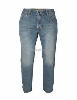 2c5329d7e10e3 ¡2017 nueva moda de los hombres de marca de pantalones Jeans venta al por  mayor