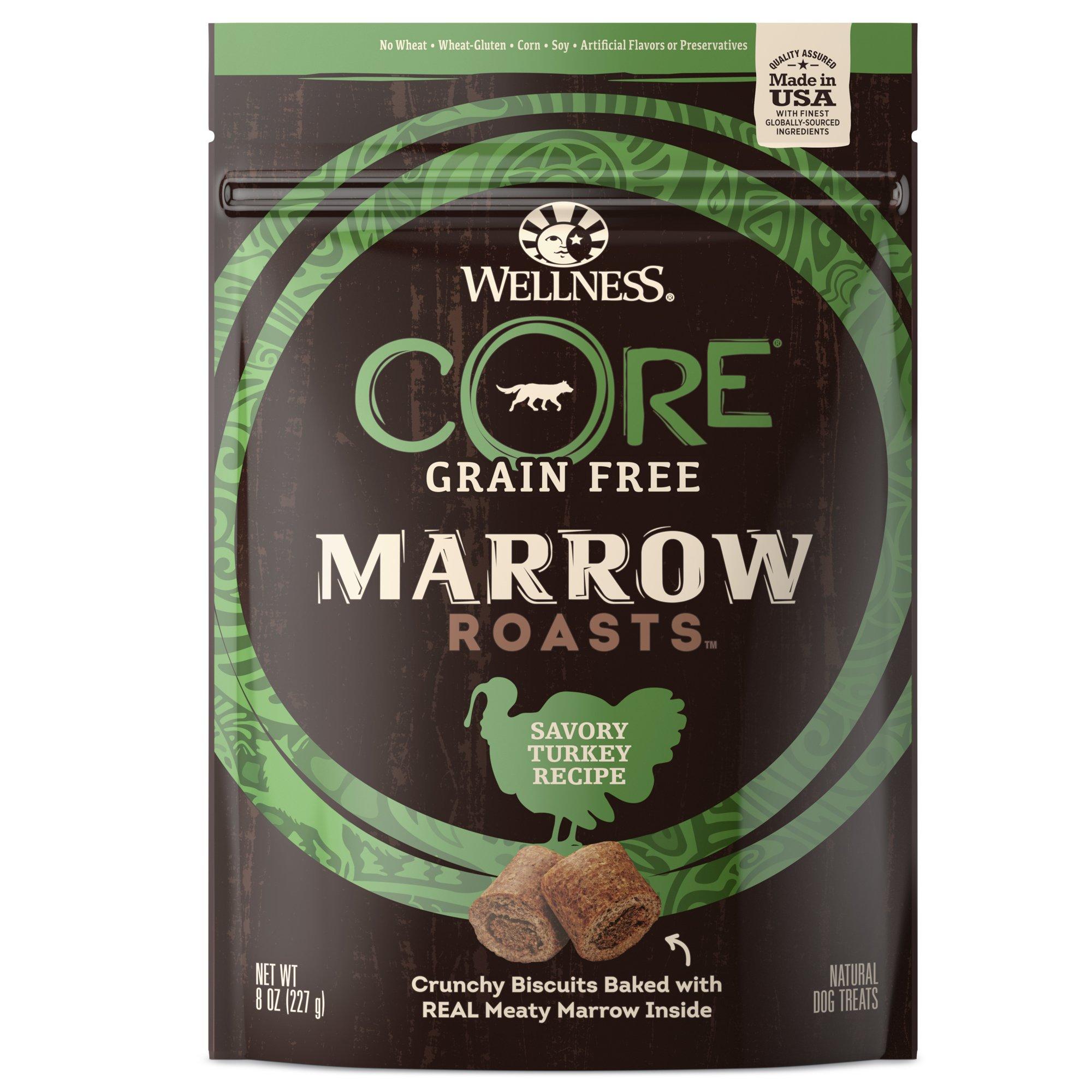Wellness Core® Marrow Roasts Natural Grain Free Dog Treats, 8-Ounce Bag