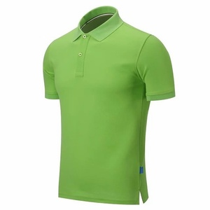 New fashion solid color 100% polo t shirt for garment