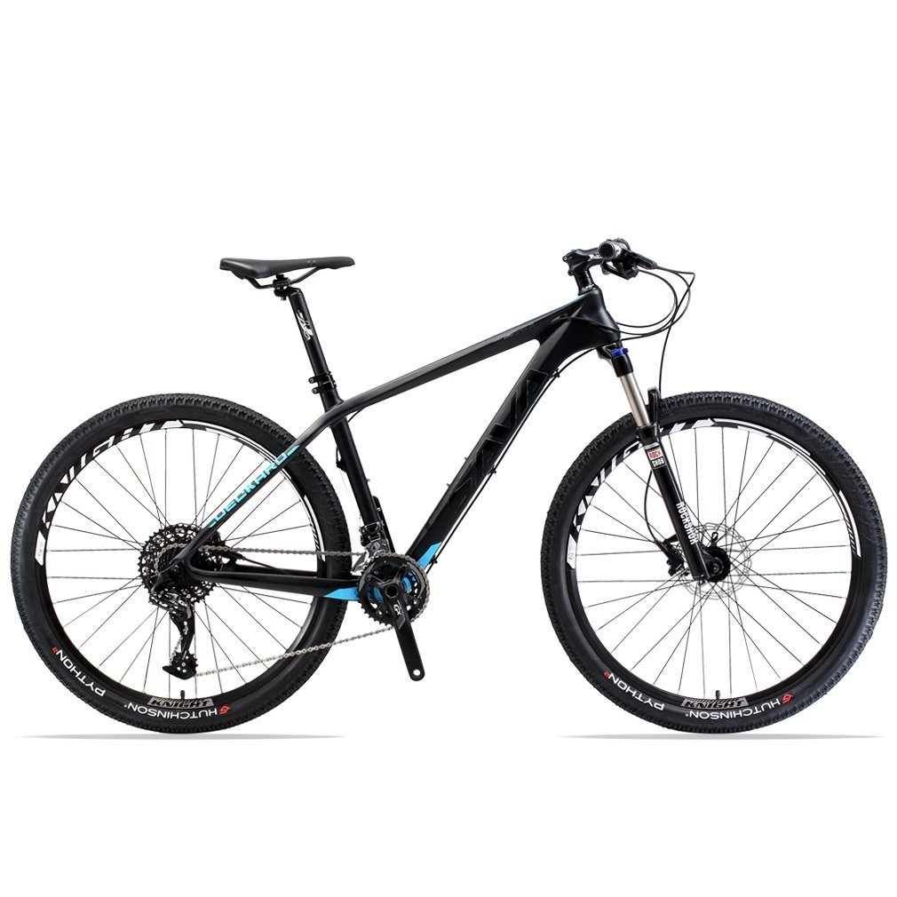 """SAVADECK DECK380 Mountain Bike 27.5"""" T800 Carbon Fiber Frame Complete Hard Tail MTB Cycle Bicycle with SRAM GX 2 x 11 Speed Group Set"""