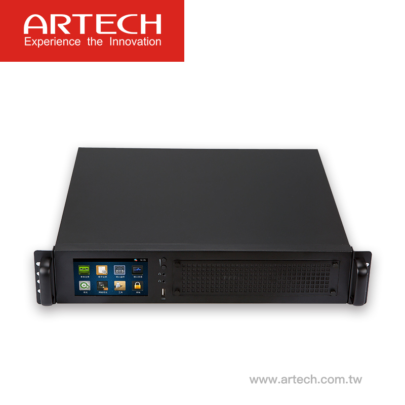 ARTECH AK32 - New arrival multi-line stand-alone voice logger system 32lines with 5inch touch screen