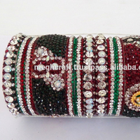 Dulhan chura bangles - Indian wedding bangles - Indian bridal chura sets - artificial bangles sets