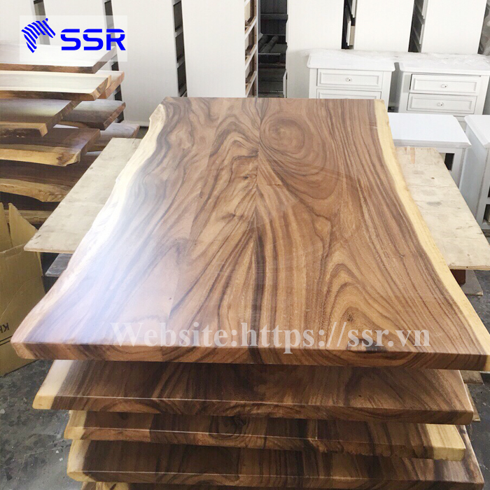 Black Walnut/acacia/raintree Wood Table Top/ Wood Slab With Live Edges (two  Panels) - Buy Laminated Wood Table Tops,Live Edge Slab Dining Table,Wood