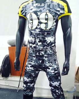 Custom design American football uniforms / Custom sublimated American football uniforms