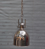 Nickel Plated Plain Pendent lamp