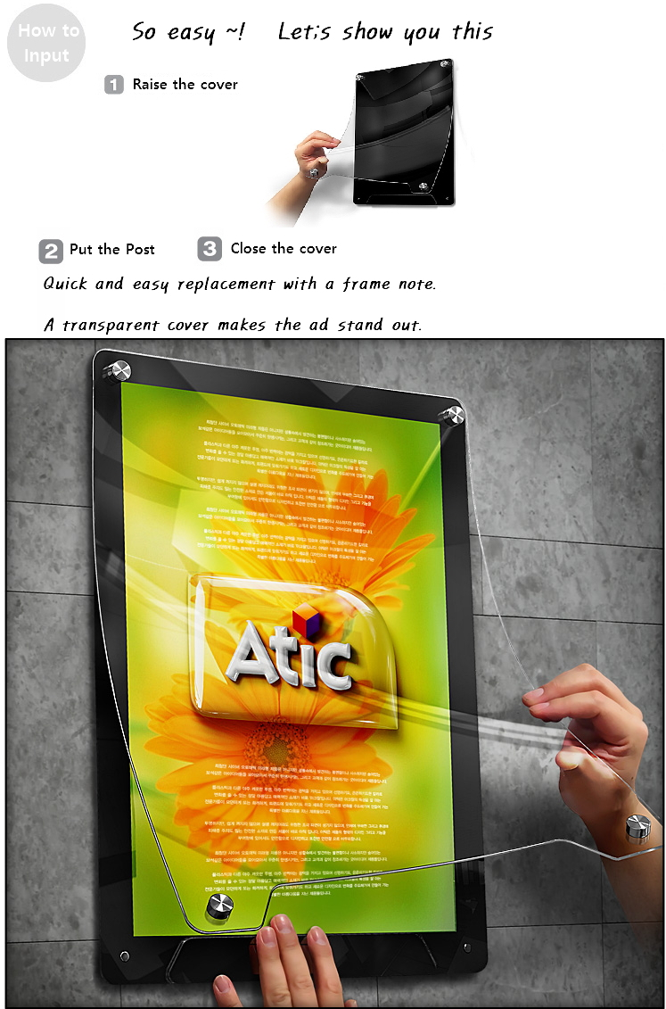 Picture Frame Made By High Quality Acrylics (advertising / Wall ...