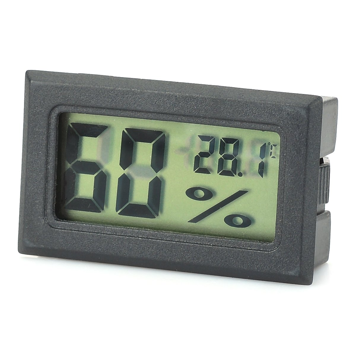 """OLSUS Digital Temperature Humidity 1.5"""" LCD Thermometer Hygrometer Degree Display for Home"""
