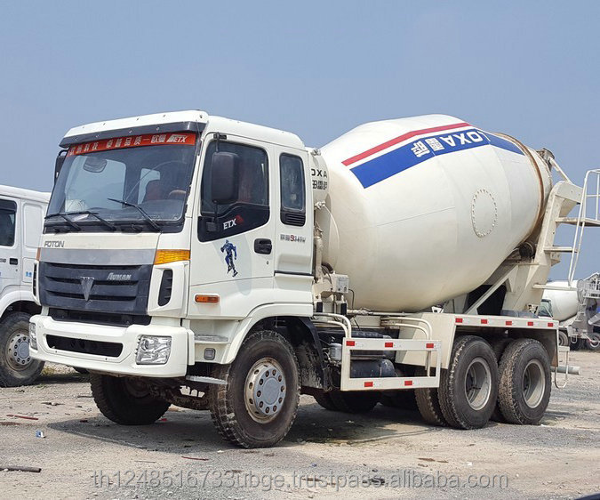 Small used 6x4 Foton Auman truck mixer for sale Foton truck mixer