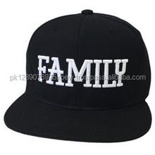 Blank black 5 panel snapback caps, custom embroidery sports wear snap back cap, cotton twil sport wear snapback caps
