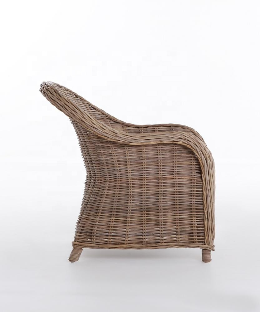 Comfort Style Kubu Chair With Cushion Rattan Chair Natural ...