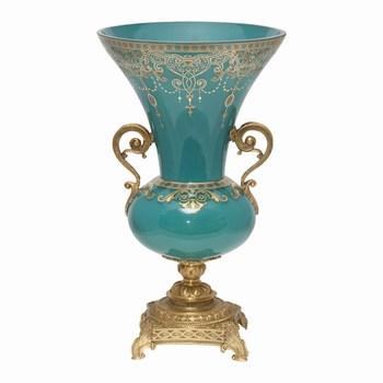 Turquoise Blue Decorative Vase Buy Antique Blue Vasesblue Glass