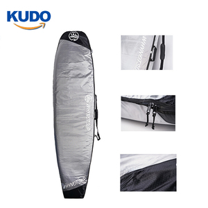 wholesale Oem design 600D silver color surfboard bag for sup board