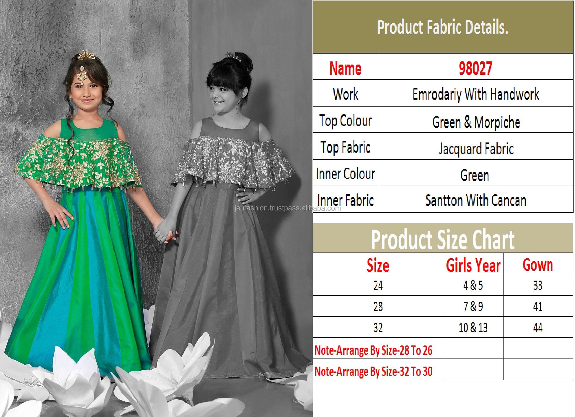 aaa698f73 Comprar ropa para niños niños diseños Anarkali vestido niños Vestido corto  para la fiesta