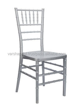 Silver Wedding Tiffiny Chairs