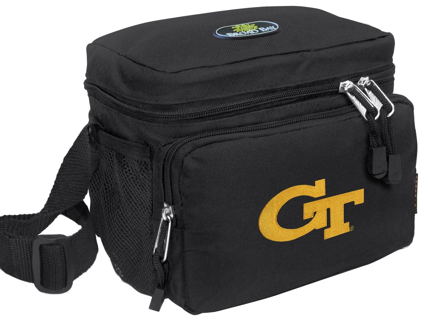 Georgia Tech Lunch Bag OFFICIAL NCAA GT Yellow Jackets Lunchboxes