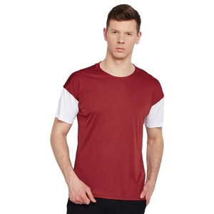 Custom Sublimation Casual 100% Cotton Striped T Shirts Printed Custom Gym Workout T Shirts men's Golf Polo T Shirts