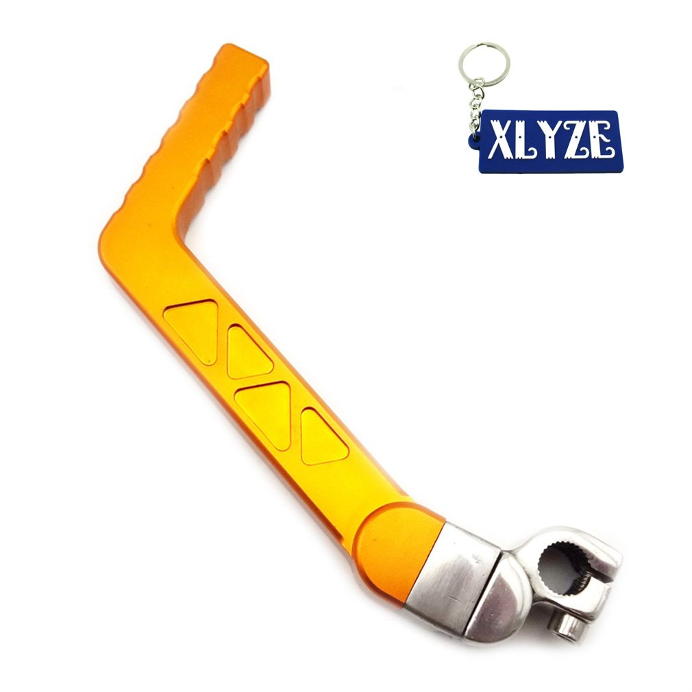 Cheap Crf 90 Find Deals On Line At Alibabacom Crf50 Kick Start Wiring Diagram Get Quotations Xlyze Gold 13mm Cnc Blue Starter Lever For 50cc 70cc 90cc 110cc 125cc