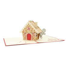 Handmade Paper Craft 3D Pop up Cartolina <span class=keywords><strong>Di</strong></span> Natale per il commercio all'ingrosso