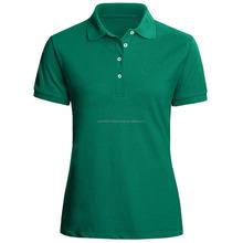 wholesale custom Diverse styles women cotton polo t- shirt