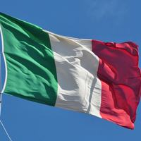 amazing quality promotional 3*5FT outdoor advertising large italy national flag