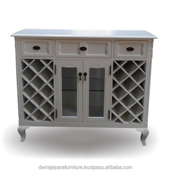 White Mini Bar Cabinet Furniture Product On Alibaba